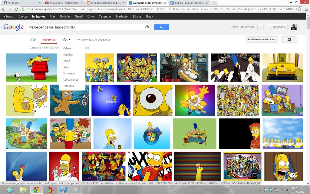 Nuevo diseño interfaz de Google