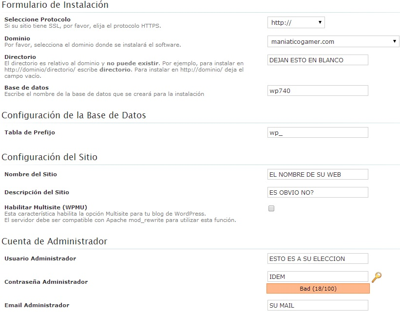 Migrar de blogger a WordPress