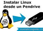 instalar linux desde usb