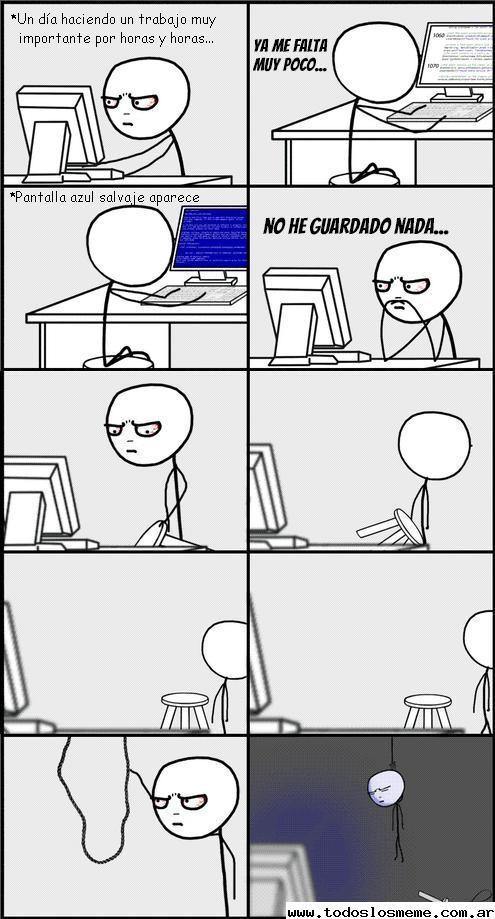Blue Screen Humor