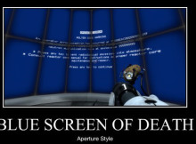 blue screen of death creador
